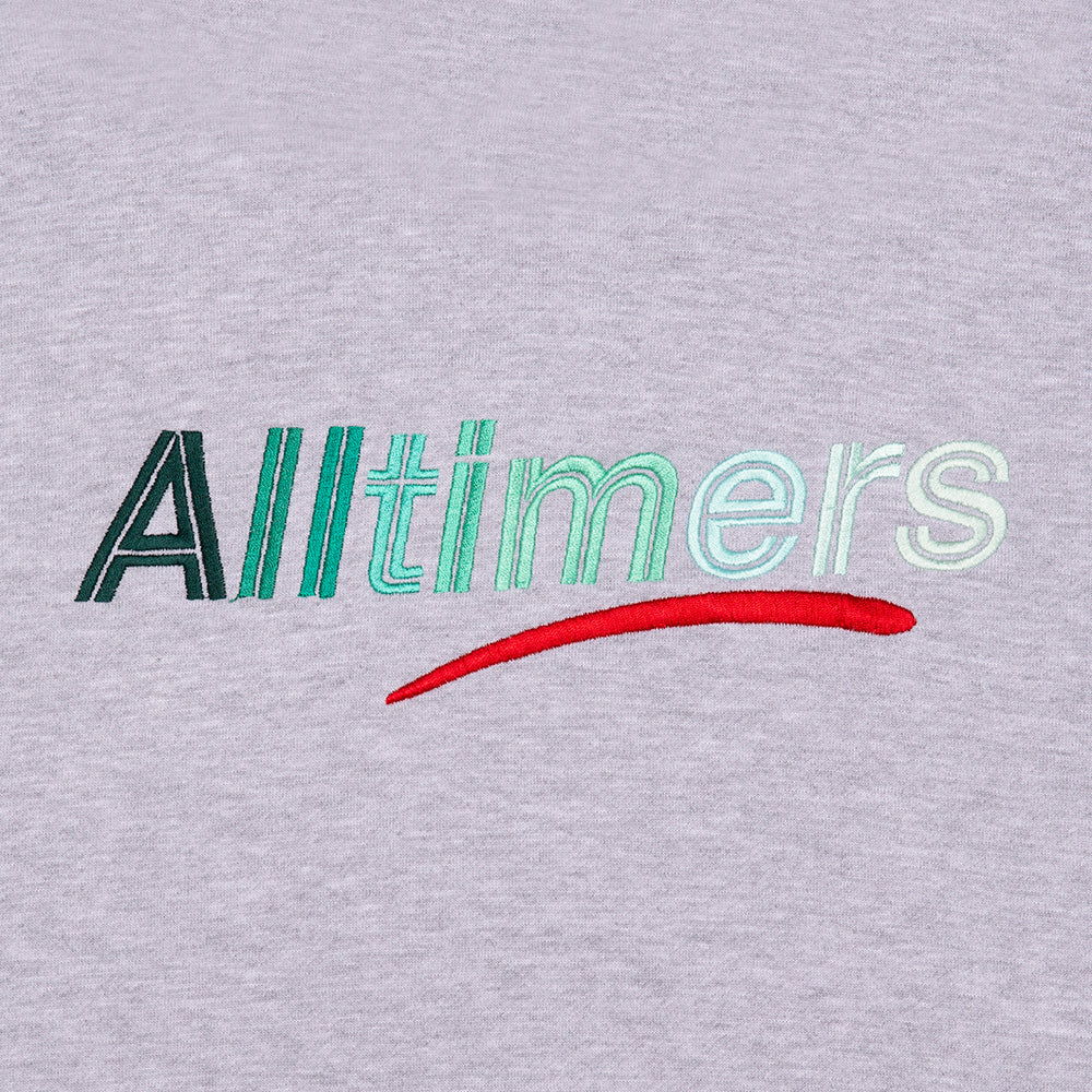 "ALLTIMERS  - Big Fader Hoody ""Heather Grey"""