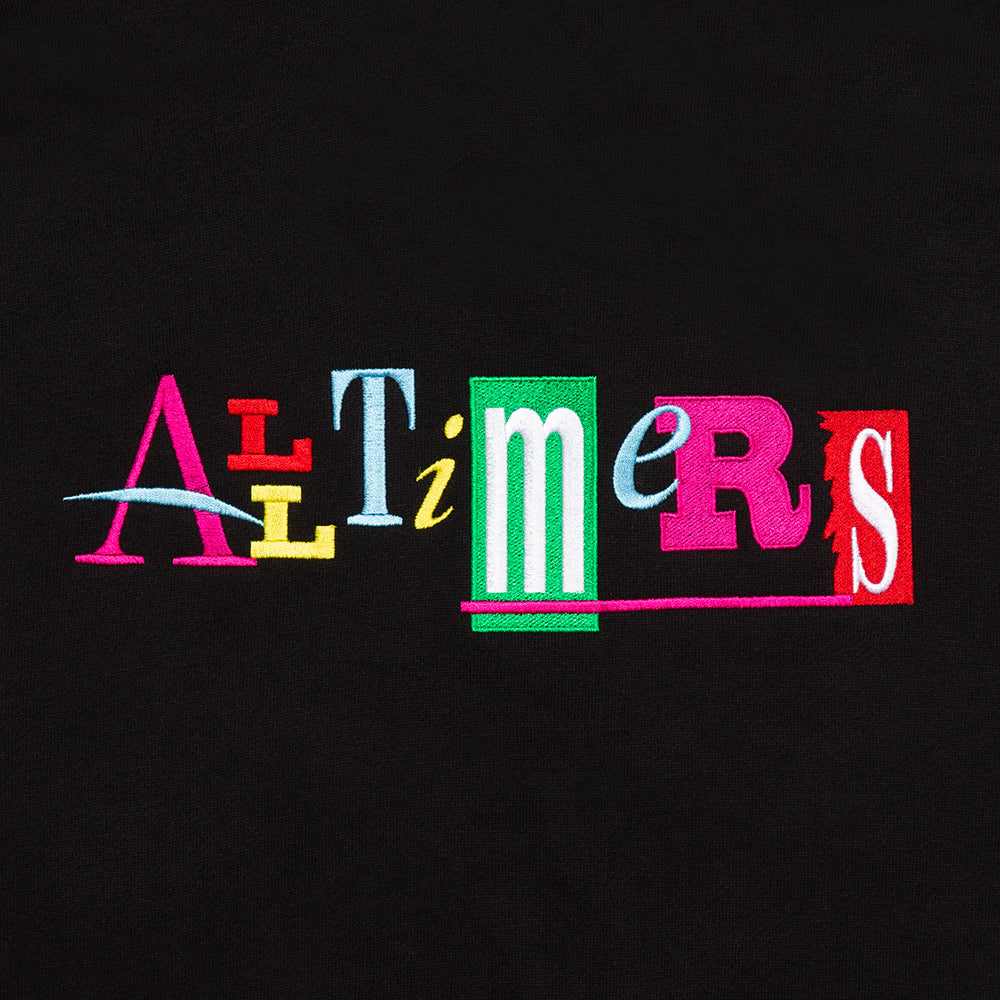 "ALLTIMERS - Embroidered Sin Good Hoody ""Black"""