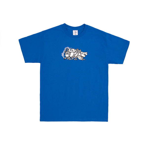 "ALLTIMERS - Grass Copper Tee ""Royal"""