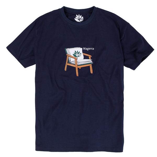 "MAGENTA SKATEBOARDS - Book Tee ""Navy"""