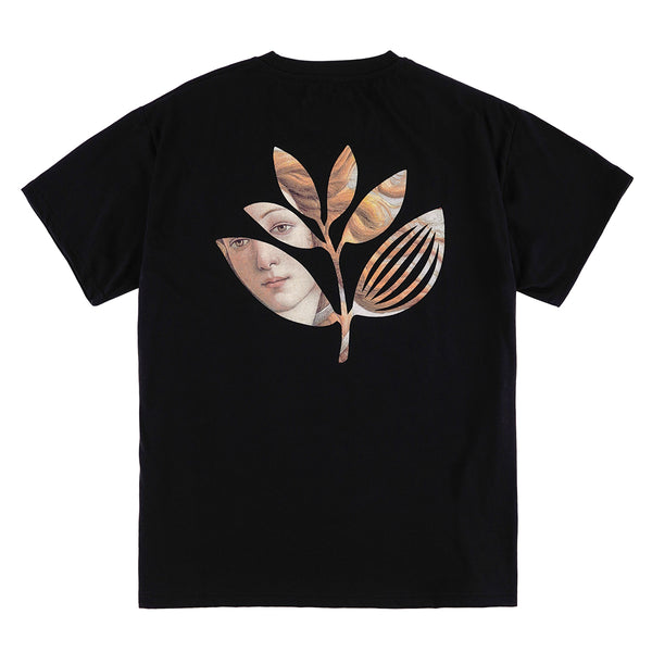 "MAGENTA SKATEBOARDS - BOTTICELLI PLANT TEE ""Black"""