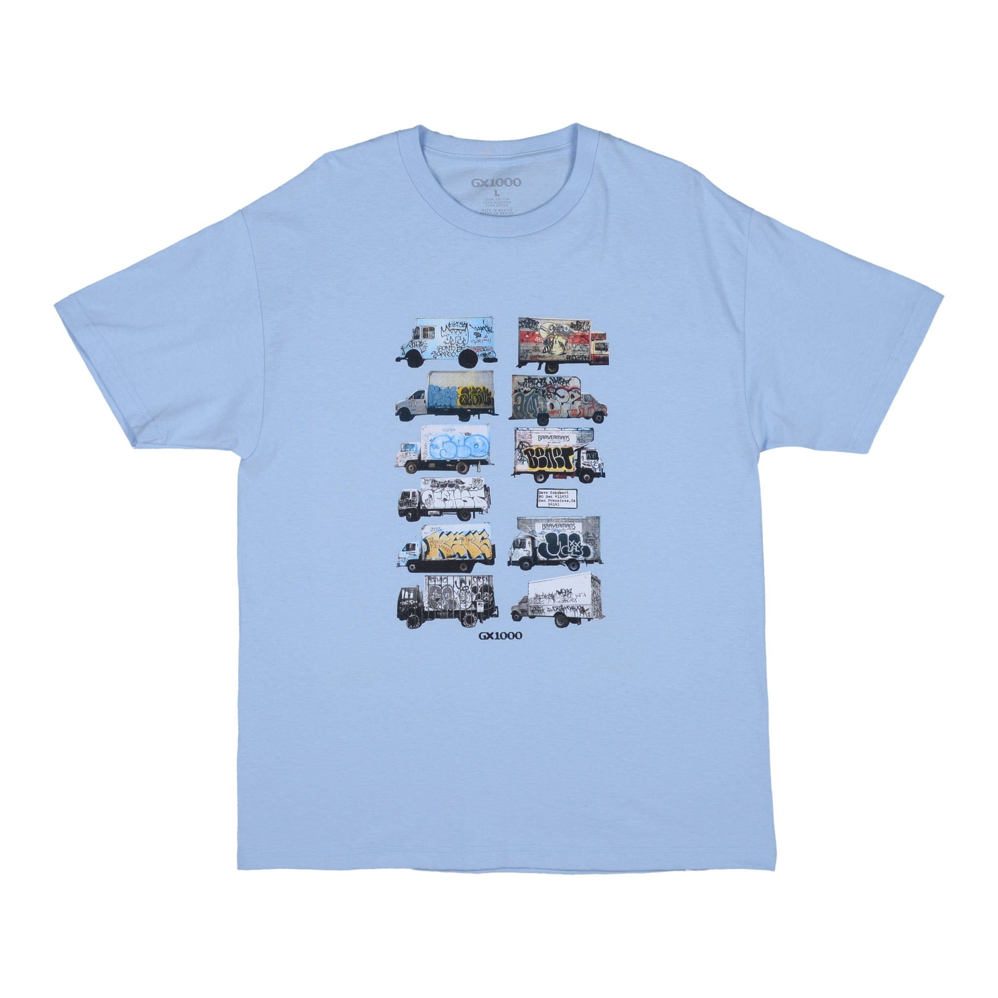 "GX1000 - Box Truck Tee ""Powder Blue"""