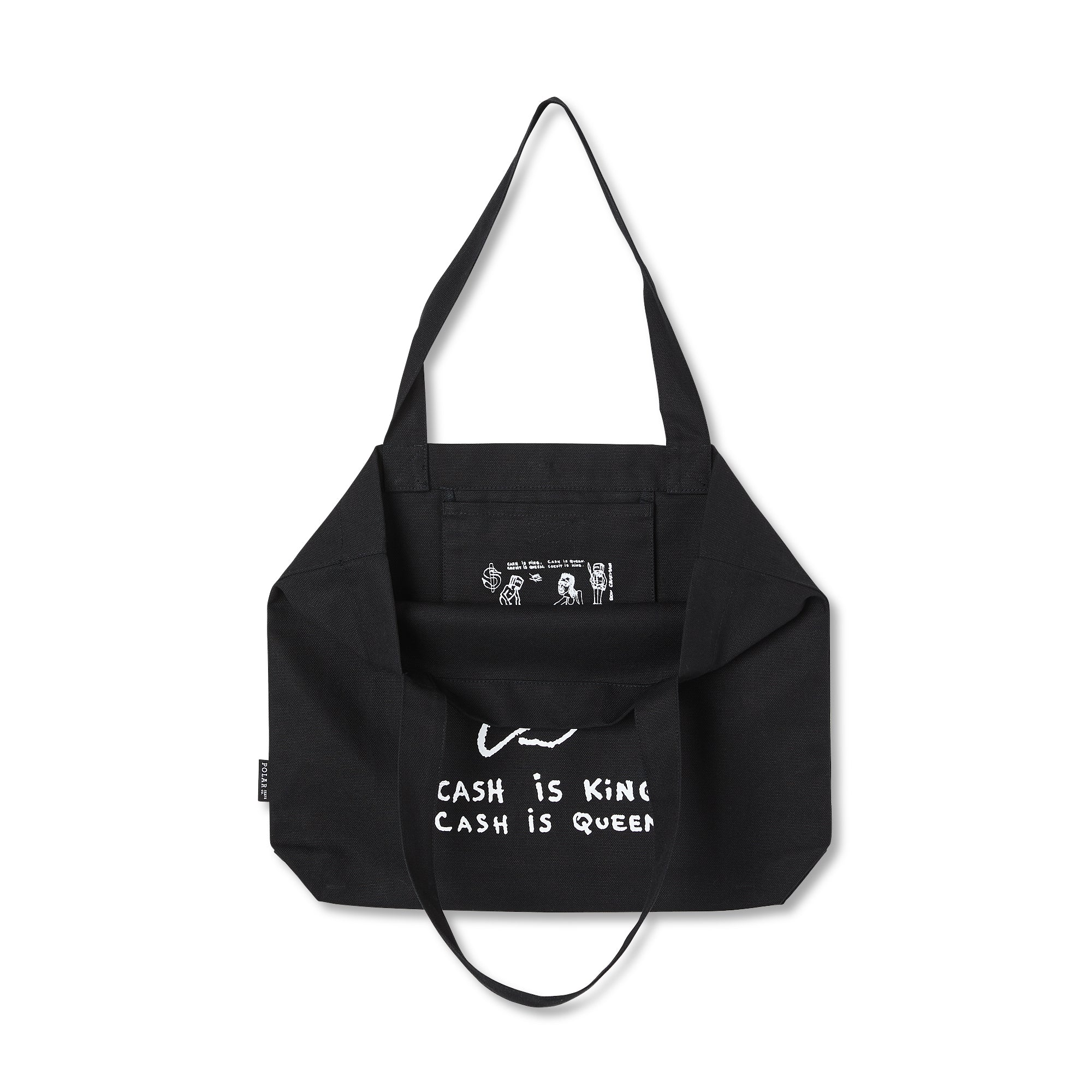 "POLAR - Cash is Queen Tote Bag ""Black"""
