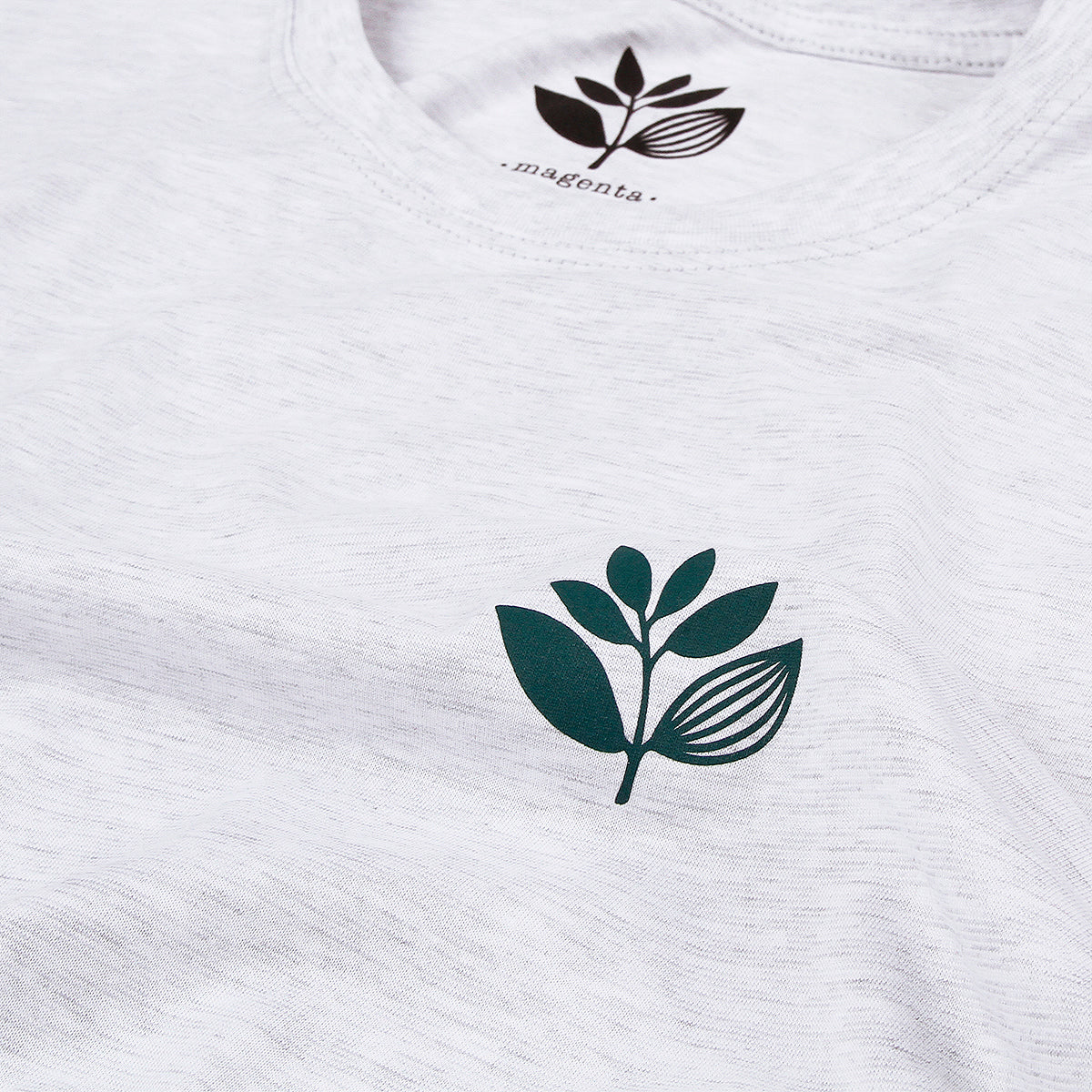 "MAGENTA SKATEBOARDS - Classic Plant Tee ""Ash"""