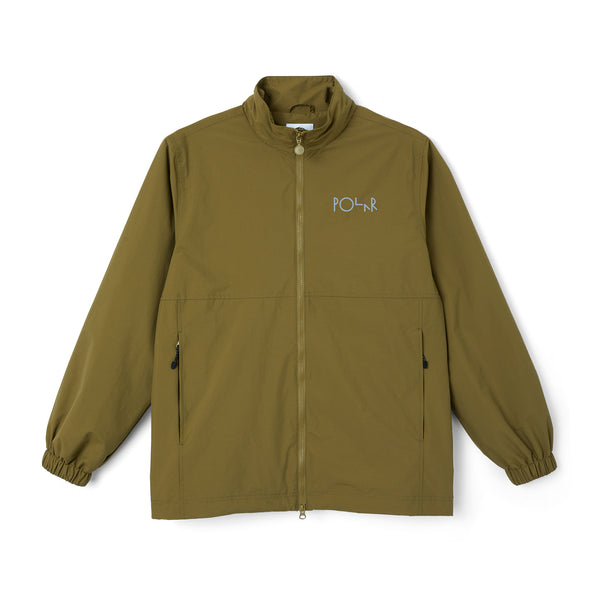 "POLAR - Coach Jacket ""Green Brown"""