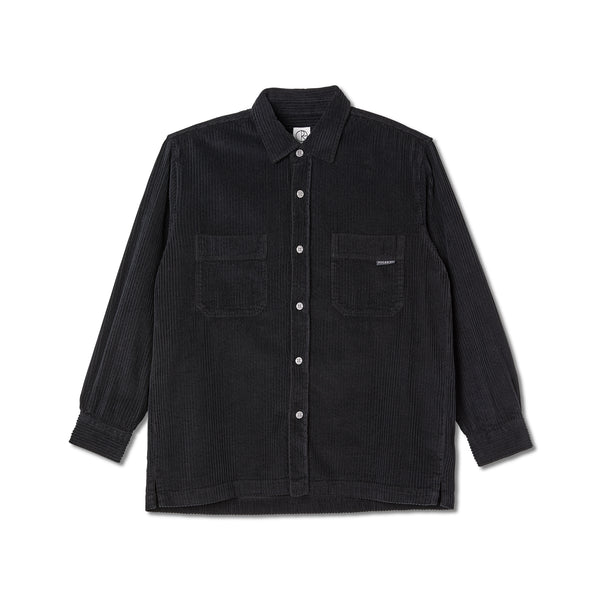 "POLAR - Cord Shirt ""Black"""