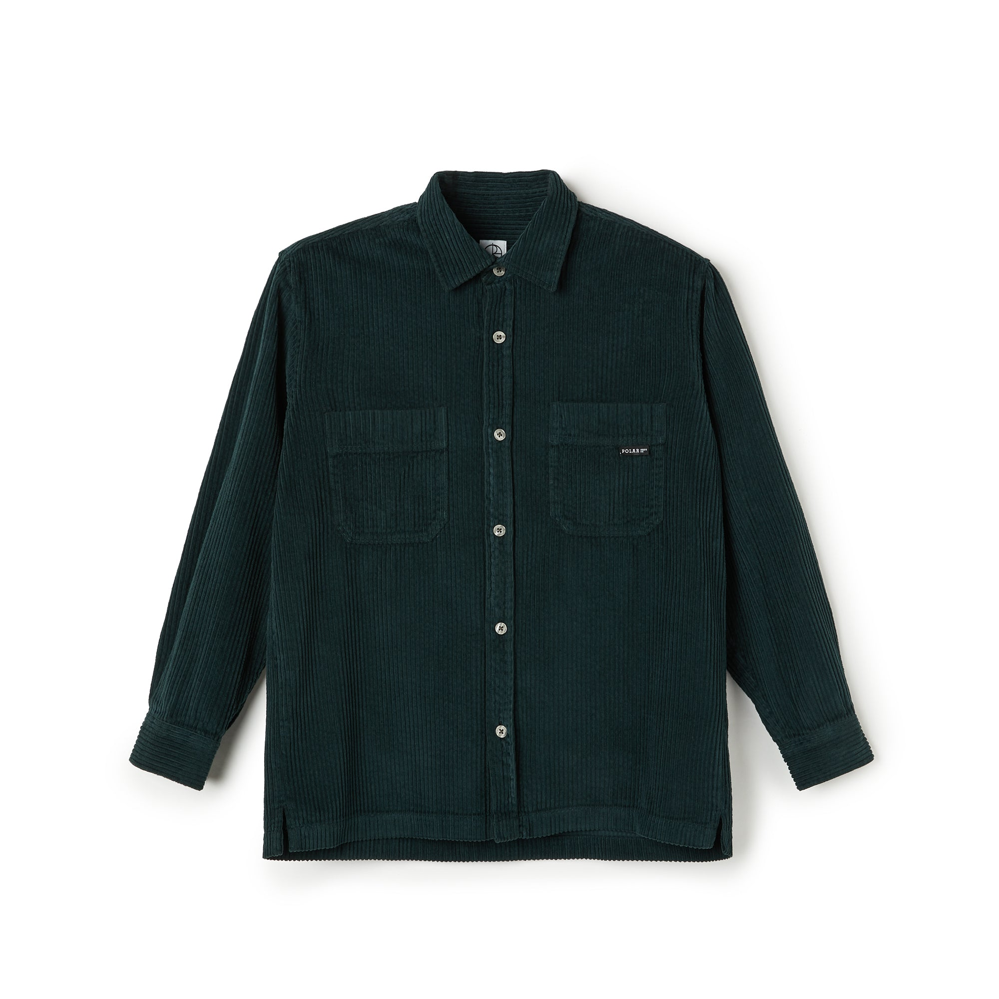 "POLAR - Cord Shirt ""Dark Green"""