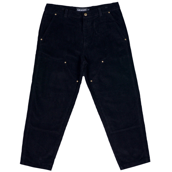 "GX1000 - Double Knee Corduroy Pant ""Black"""