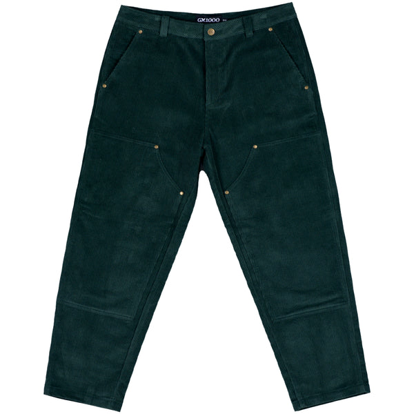 "GX1000 - Double Knee Corduroy Pant ""Forest Green"""