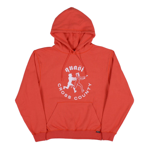"QUASI - County Hood Sweat ""Red"""