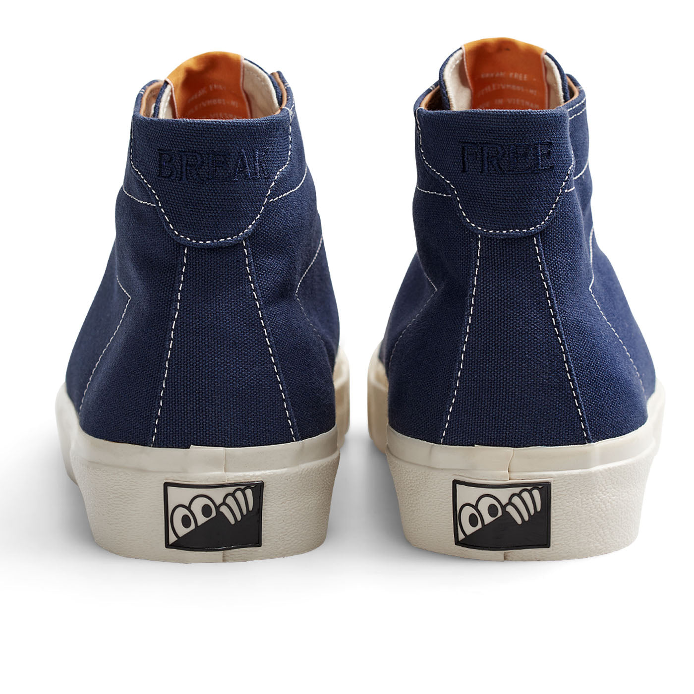 "Last Resort AB - VM001 Canvas Hi - ""Blue / White"""