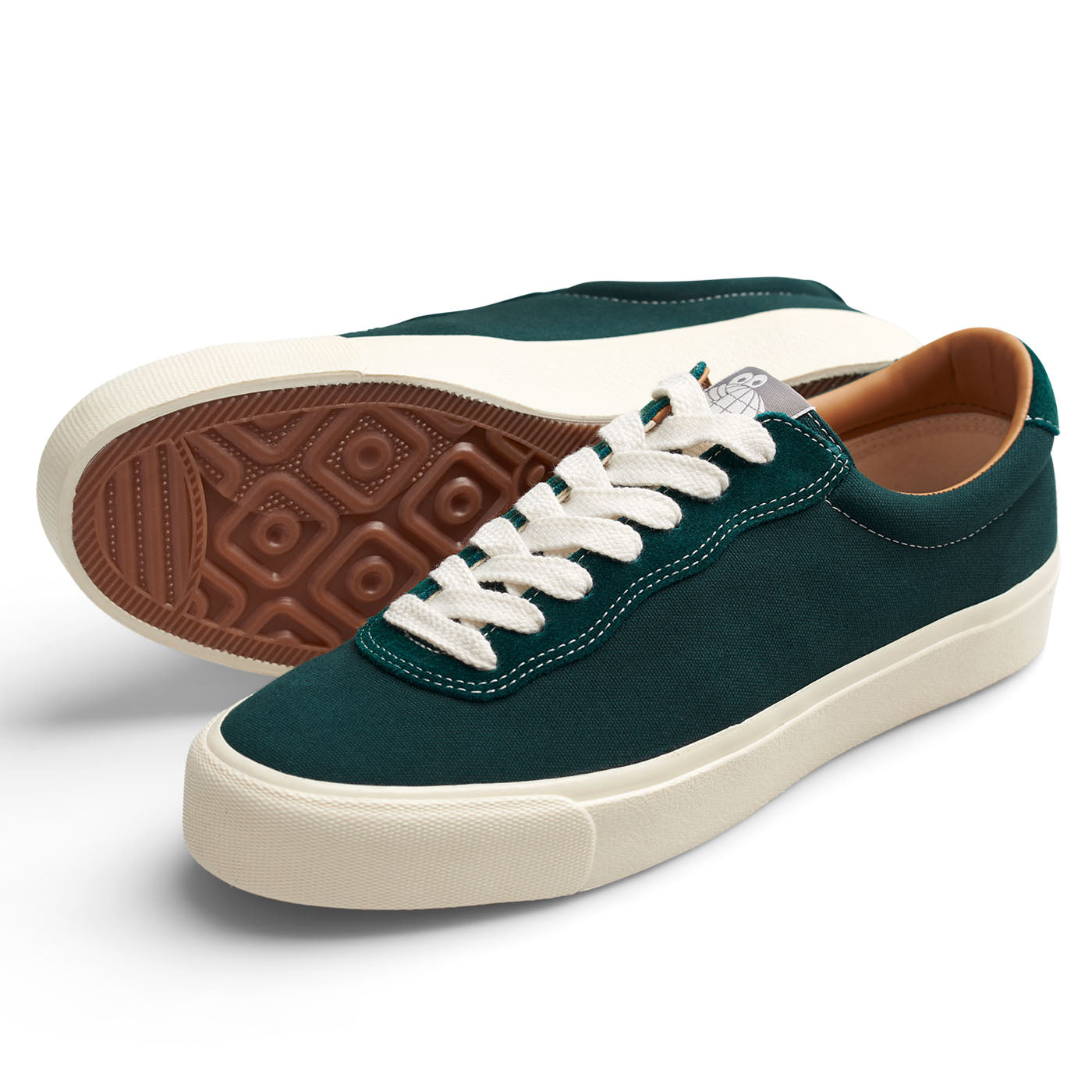 "Last Resort AB - VM001 Canvas Lo - ""Emerald / White"""