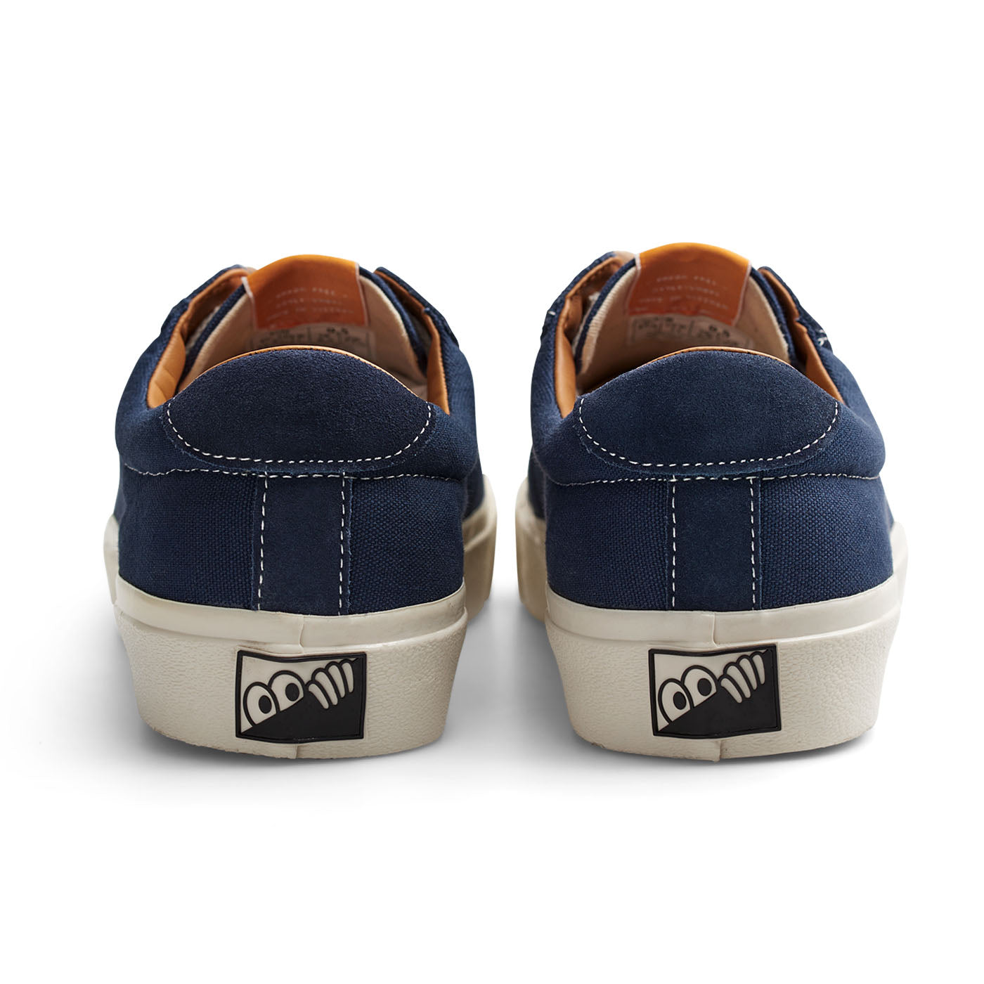 "Last Resort AB - VM001 Canvas Lo - ""Blue / White"""