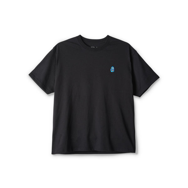 "POLAR - Dane Face Tee ""Black"""