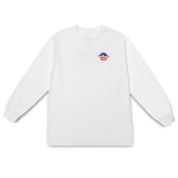 "QUARTERSNACKS  - Mountain Longsleeve ""White"""
