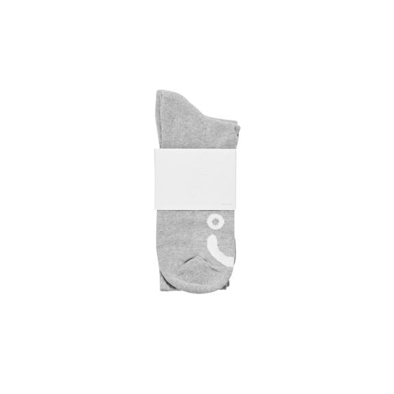"POLAR - Happy Sad Socks ""Sport Grey"""