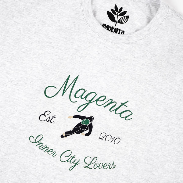 "MAGENTA SKATEBOARDS - INNER CITY LOVERS TEE ""Ash"""