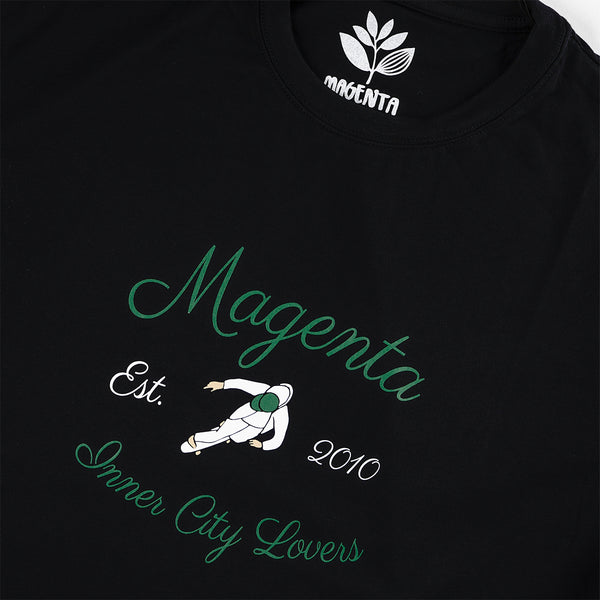 "MAGENTA SKATEBOARDS - INNER CITY LOVERS TEE ""Black"""