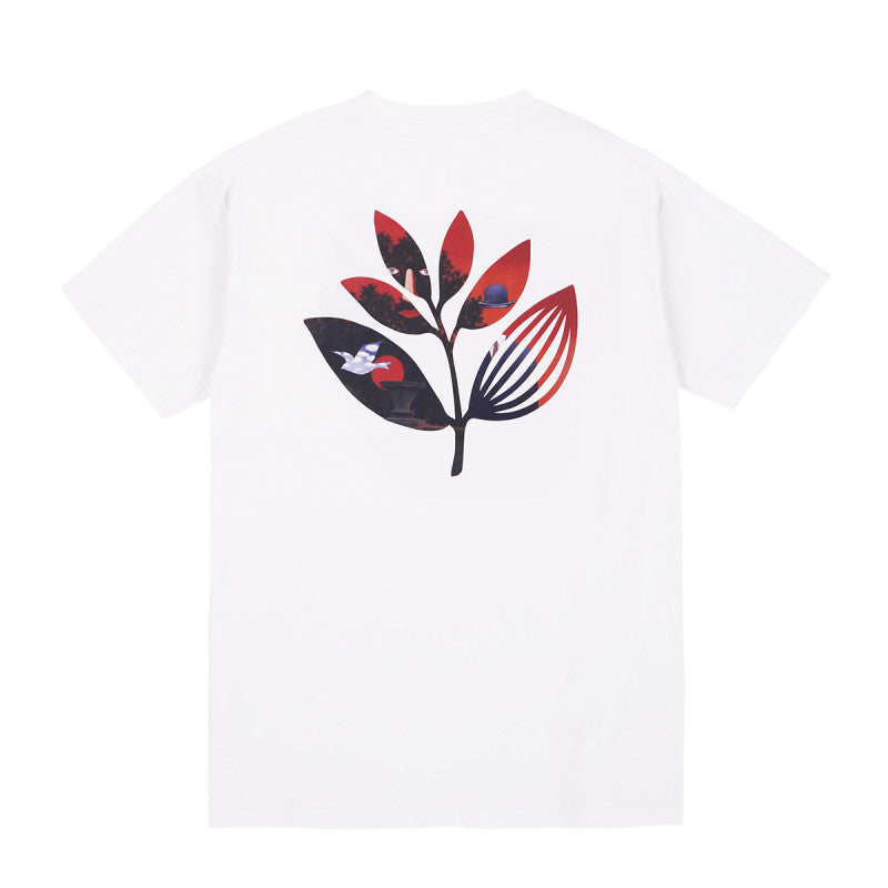 "MAGENTA SKATEBOARDS - Surreal Plant Tee ""White"""