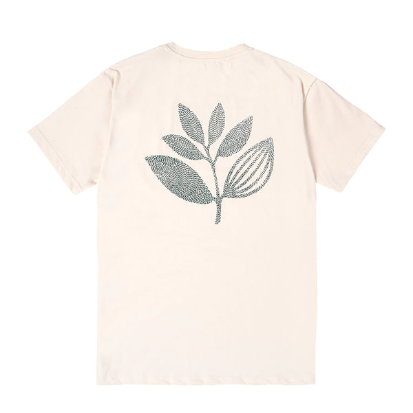 "MAGENTA SKATEBOARDS - POINTS PLANT TEE ""Natural"""