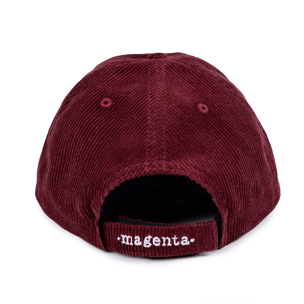"MAGENTA SKATEBOARDS - Plant Cord Dad Cap ""Bugundy"""