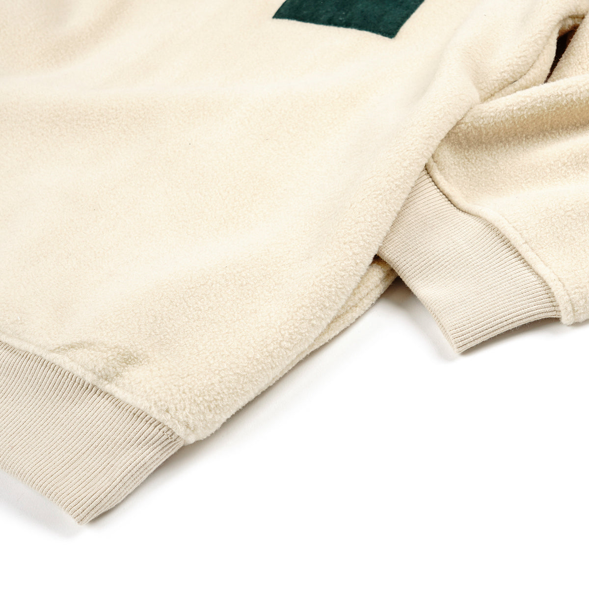 "MAGENTA SKATEBOARDS - Alpin Fleece ""Natural Beige / Forrest Green"""