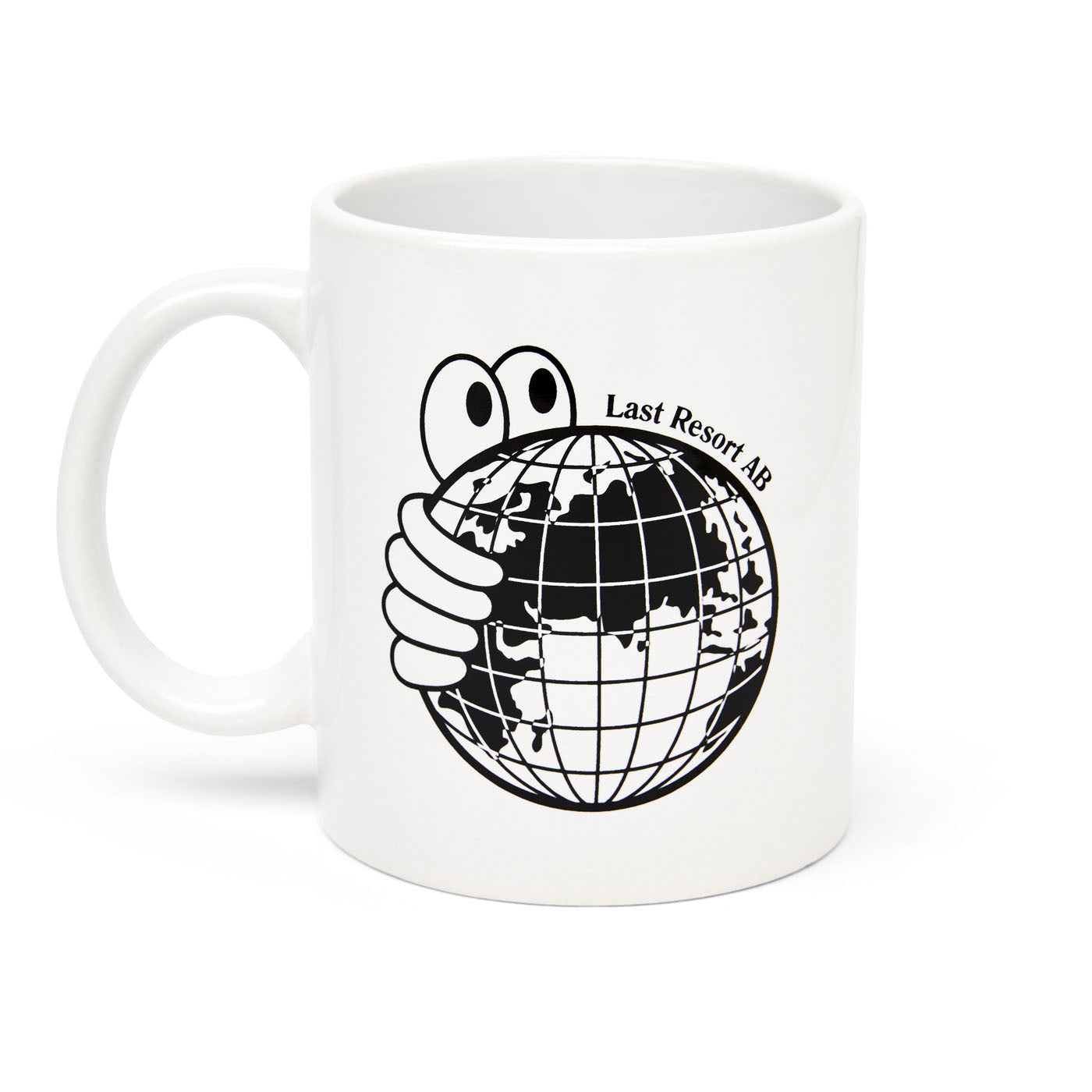 "Last Resort AB - World Mug ""Black / White"""