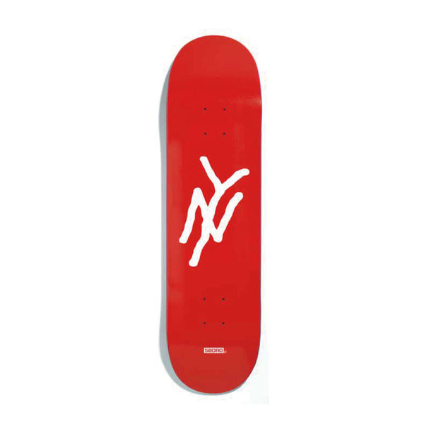 "5BORO - Ny Monogram  ""Red""  7.75"" / 8.25"""