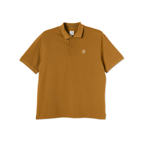 "POLAR - Pique Shirt ""Golden Brown"""