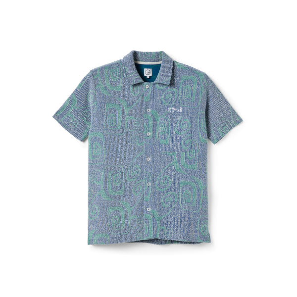 "POLAR - Patterned Shirt ""Blue"""