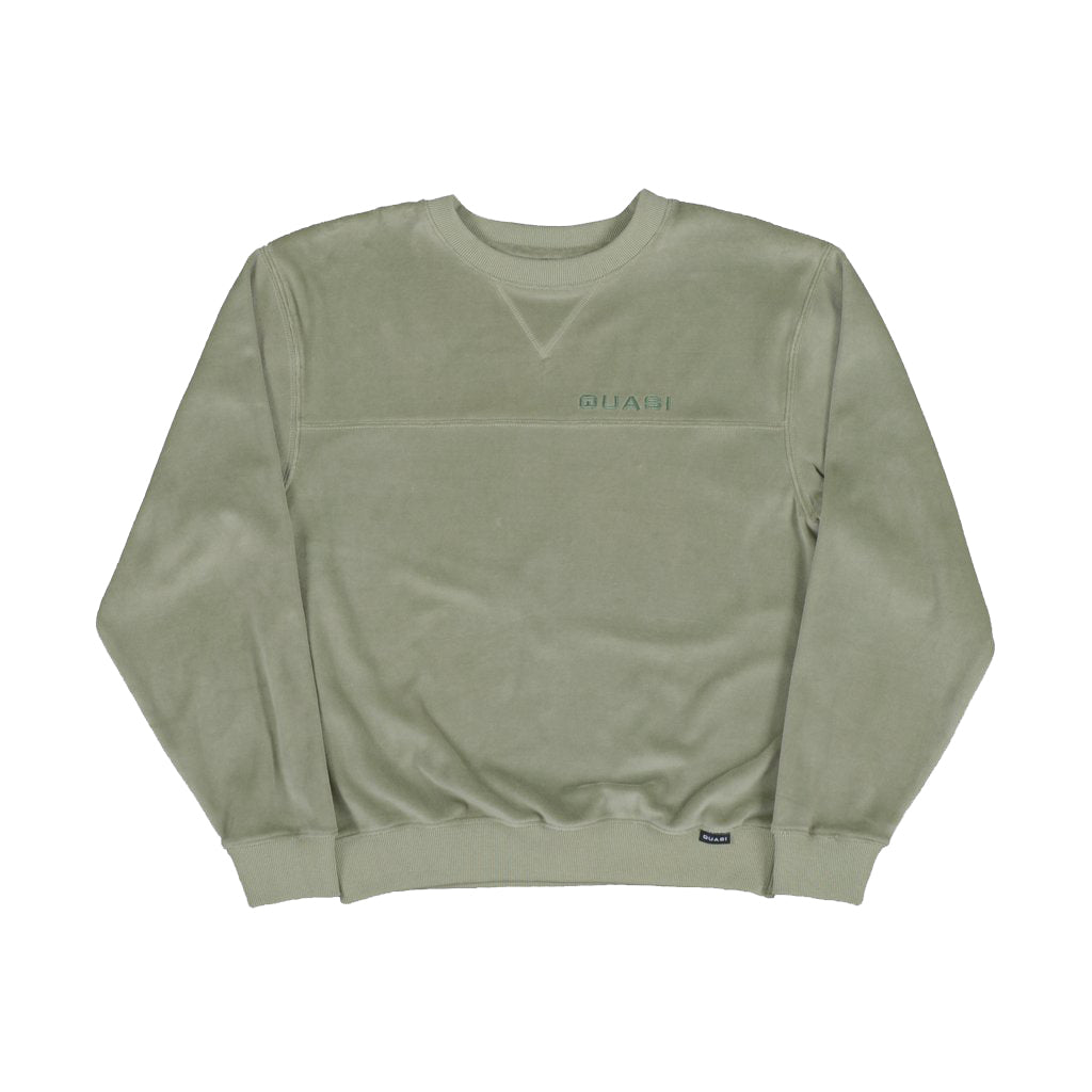 "QUASI - Richie Crew Sweat ""Sage"""