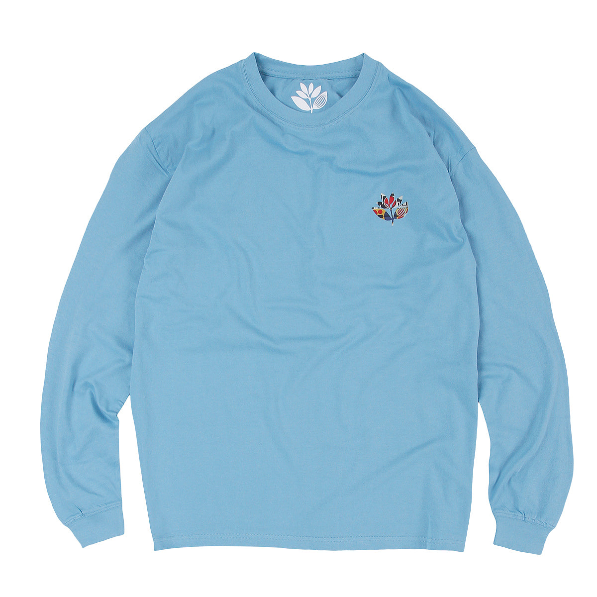 "MAGENTA SKATEBOARDS - Shapes Plant L/S Tee ""Light Blue"""