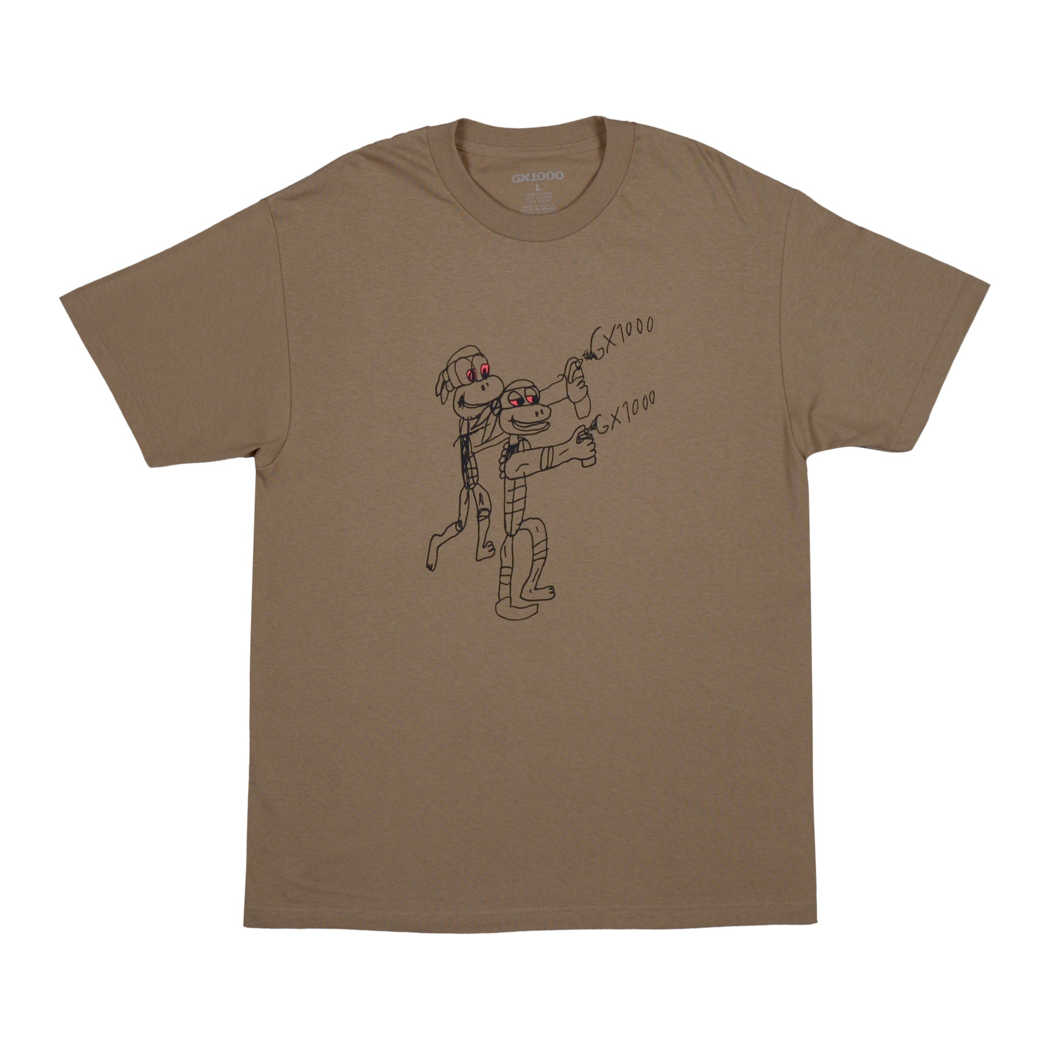 "GX1000 - Spray Tee ""Safari Green"""