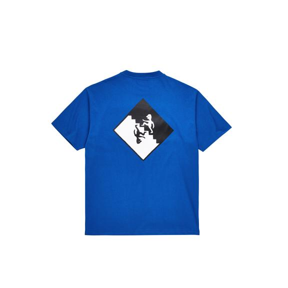"POLAR - Staircase Tee ""Egyptian Blue"""