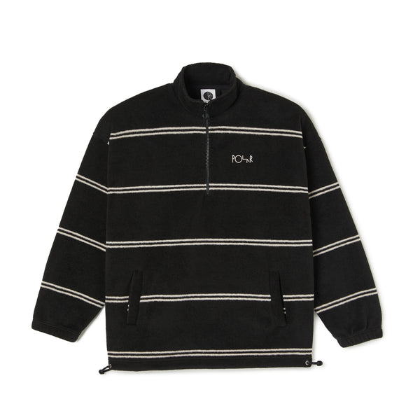 "POLAR - Stripe Fleece Pullover 2.0 ""Black"""