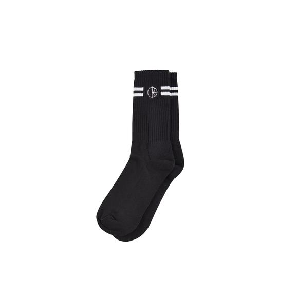 "POLAR - Stroke Logo Socks ""Black"""