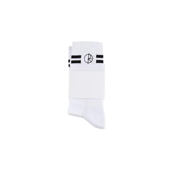 "POLAR - Stroke Logo Socks ""White"""