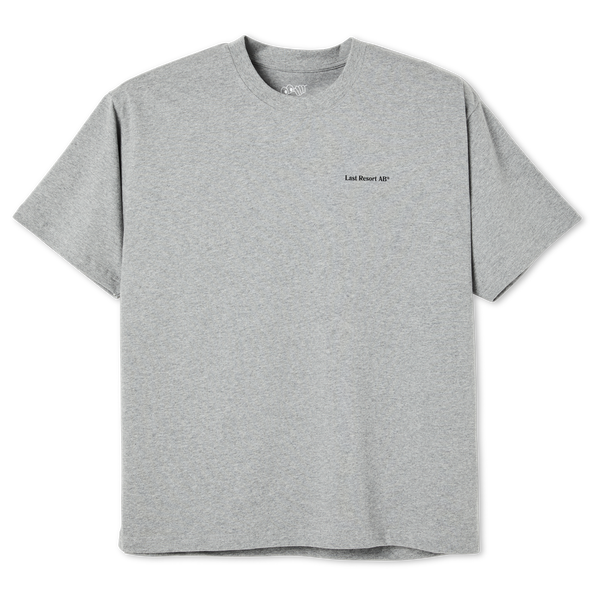 "Last Resort AB - World Tee ""Heather Grey"""