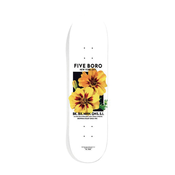 "5BORO - Flower Seed  ""YELLOW""  8.25"""