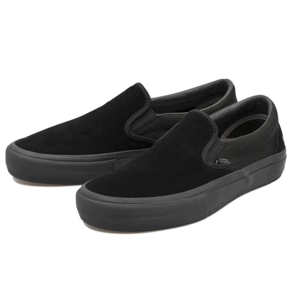 "VANS - SLIP ON PRO ""BLACK OUT"""