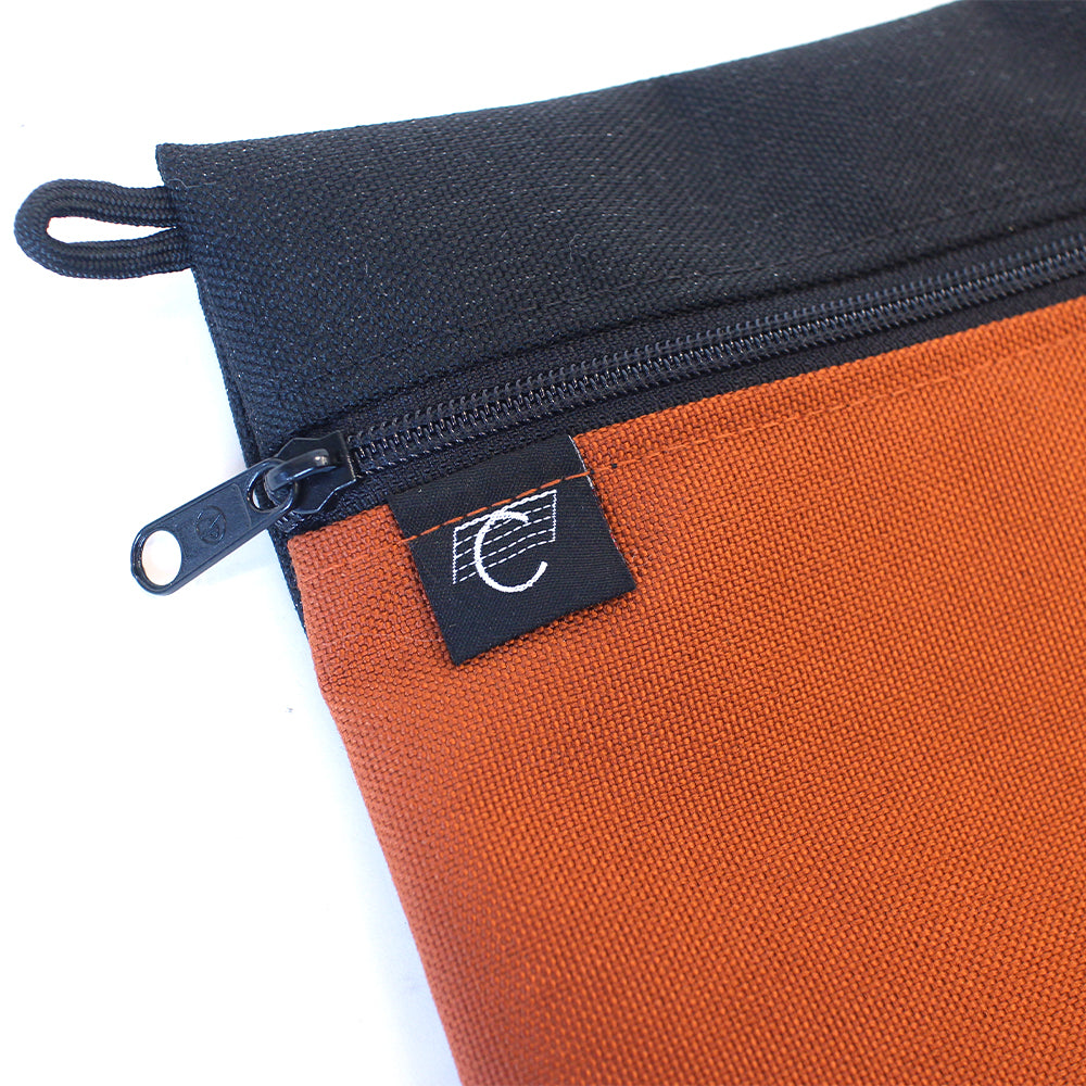 "COMA - Accessories Bag ""Rust / Black"""
