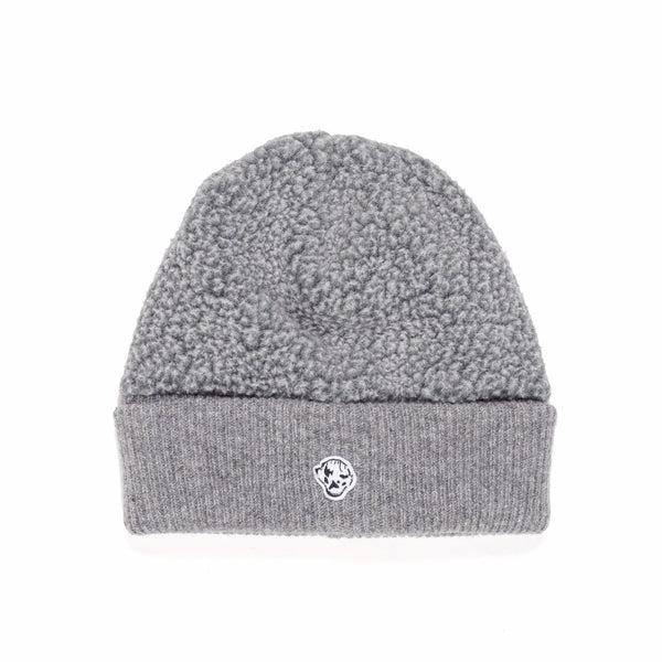 "DANCER - Fleece Knit Beanie ""Icey Grey"""