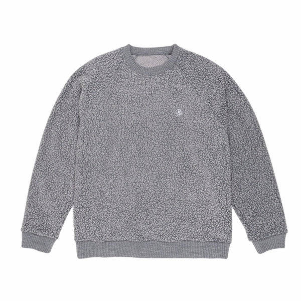 "DANCER - Fleece Sweat ""Icey Grey"""