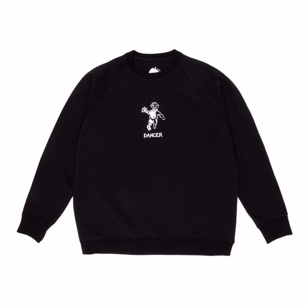 "DANCER - OG Logo Crew Sweat ""Black"""