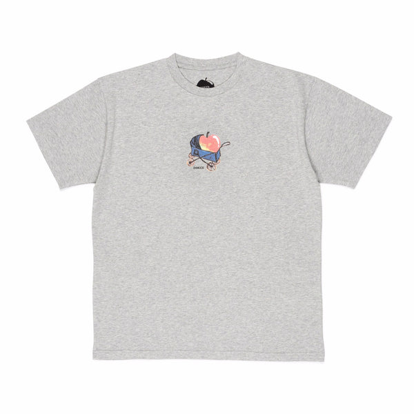 "DANCER - Baby Apple Tee ""Heather Grey"""