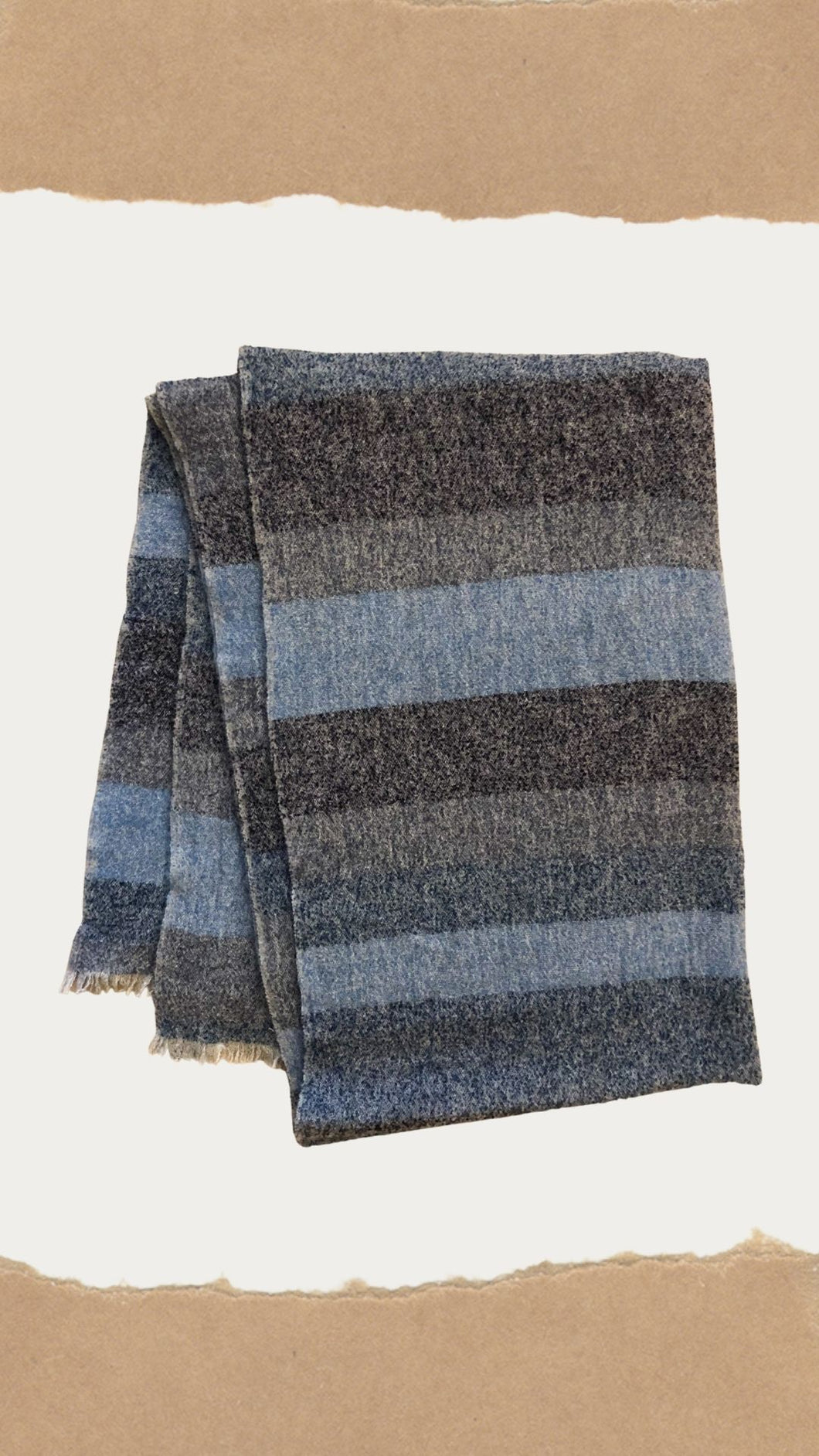 Plaid Mohair Scarves