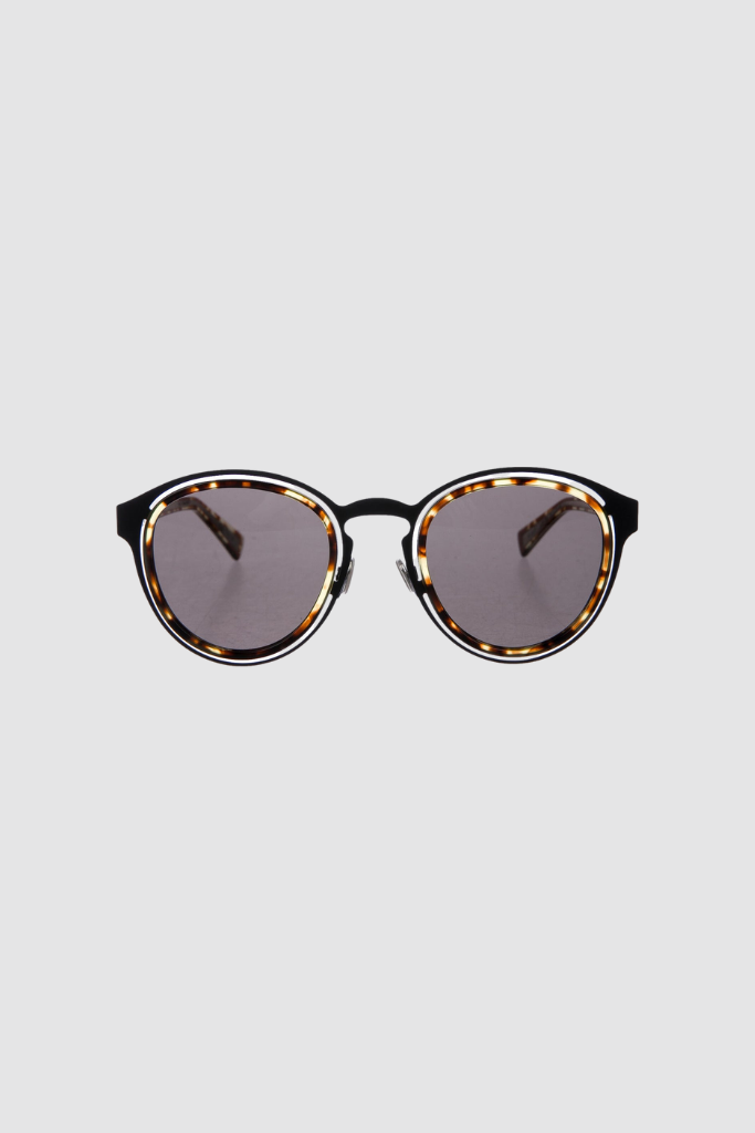 Obscure Limited Havana Round Sunglasses