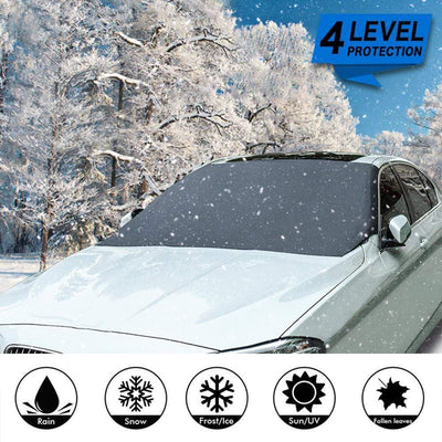 Simply Gadgets Car Windshield Snow Sun Shade Others