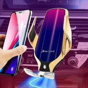 IFLG - LE Chi™ Ultra Advanced Wireless Car Phone Holder Gold