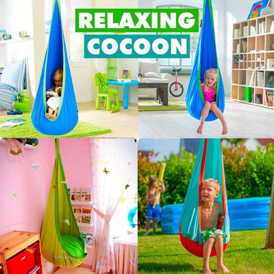 Products Pro CocoonSwing - Kids Pod Hanging Chair Toys